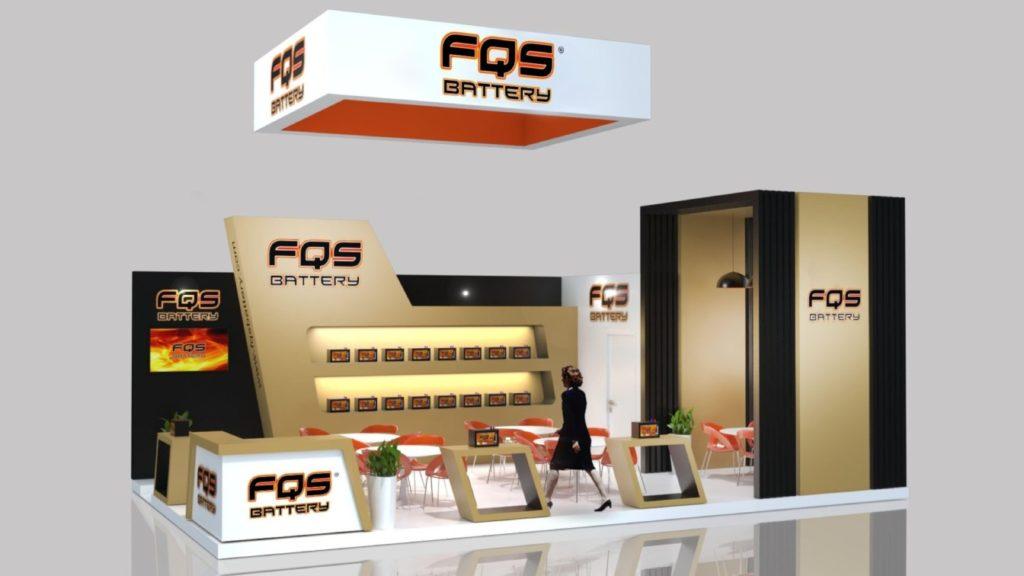 Diseño de Stand de FQS Battery