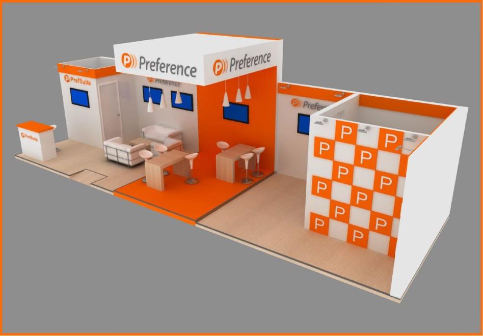 Diseño de Stand de Preference en Veteco