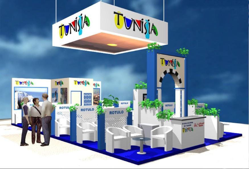 Diseño de Stand de Túnez en EIBTM