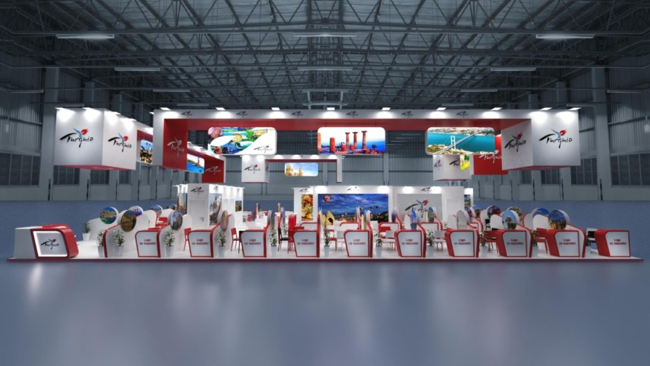 Diseño de Stand de Turquía en FITUR