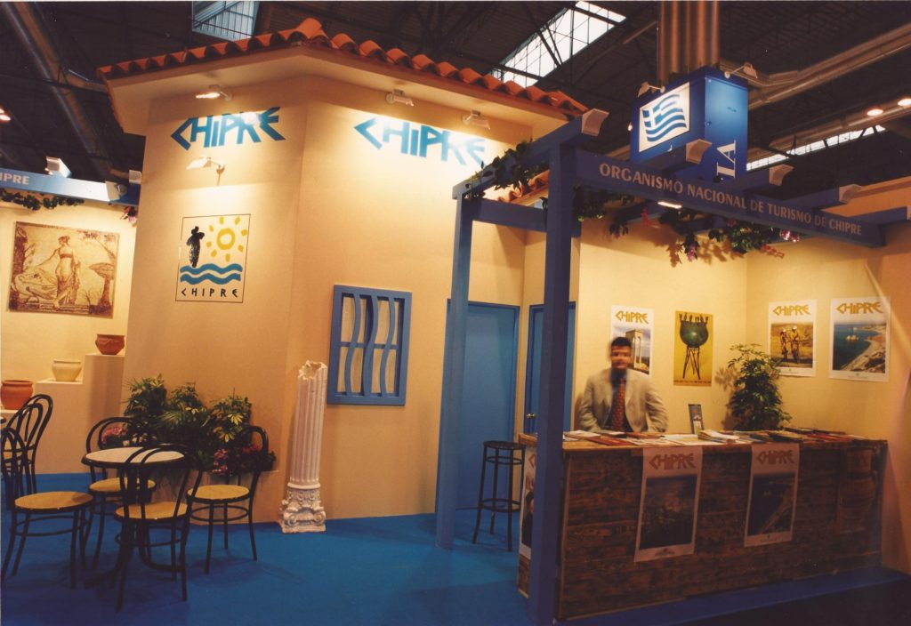 Stand for Cyprus at FITUR