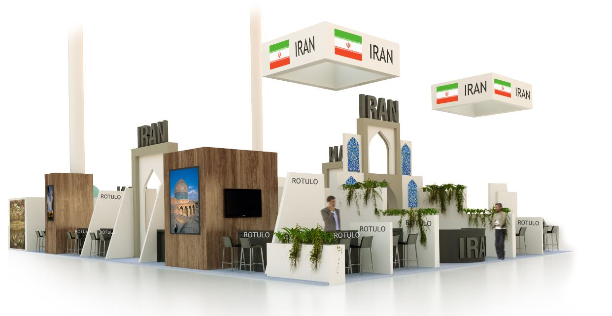 Stand Design for Iran at FITUR