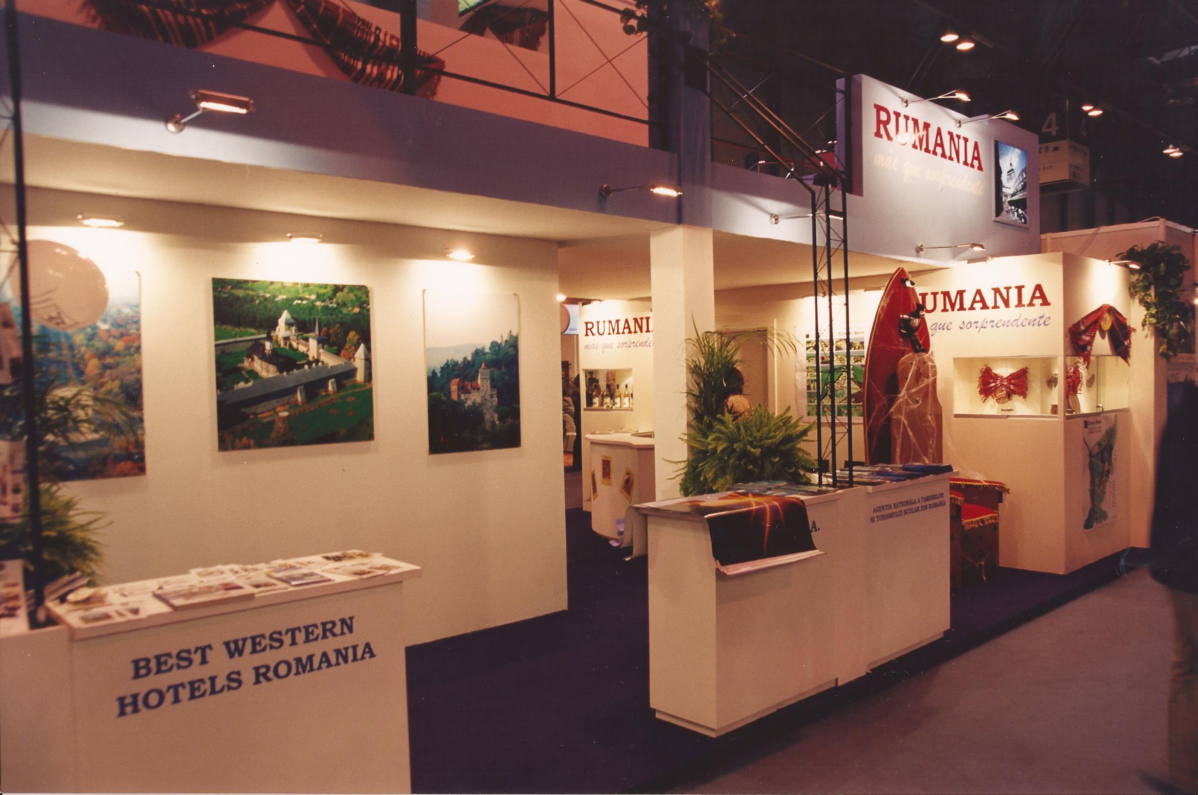 Stand for Romania at FITUR
