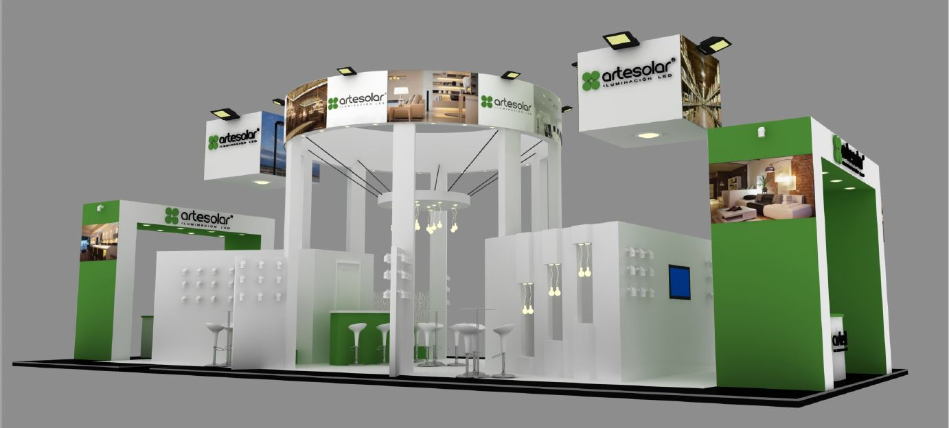 Stand Design for Artesolar at MATELEC