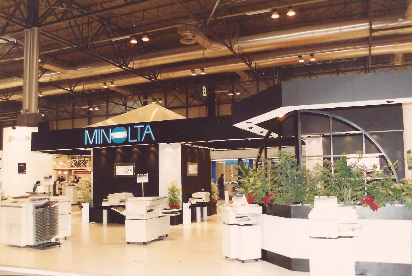 Stand for Minolta at SIMO