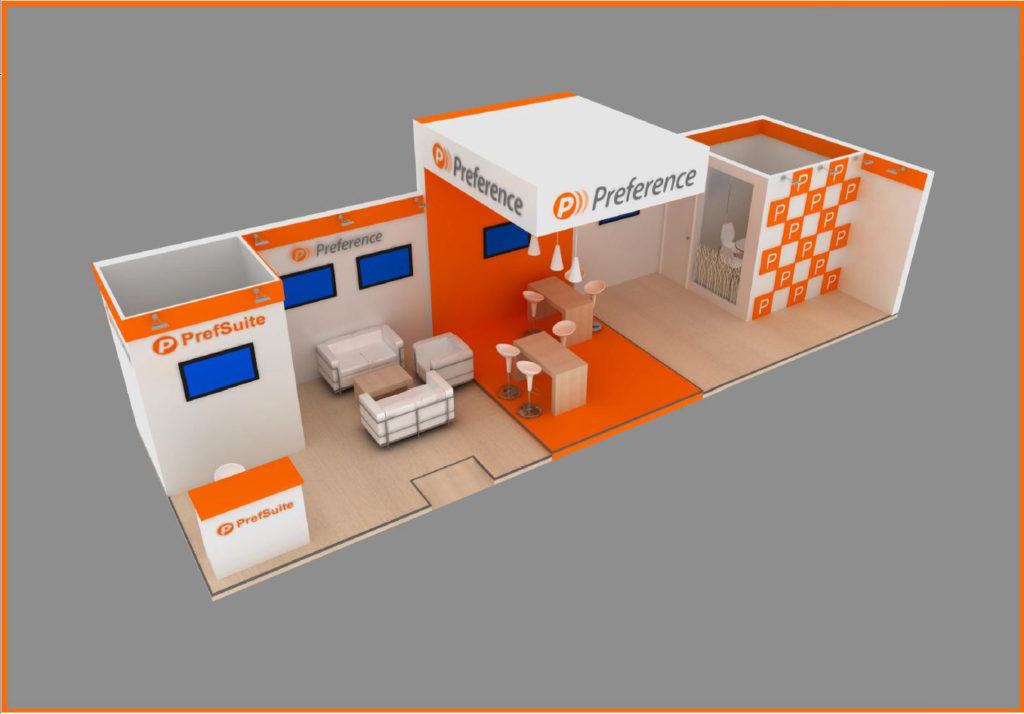 Stand Design for Preference at Veteco