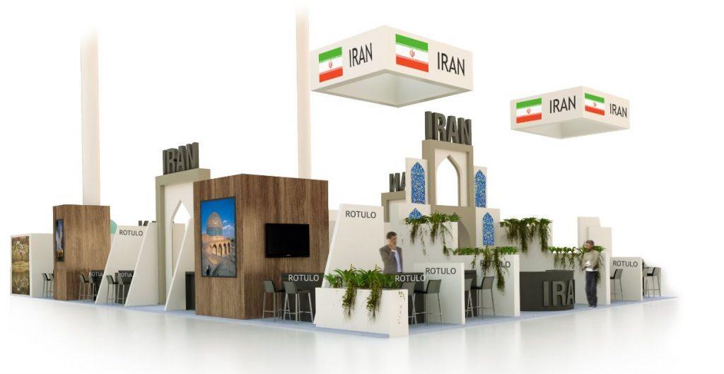 Diseño de Stand de Irán en FITUR