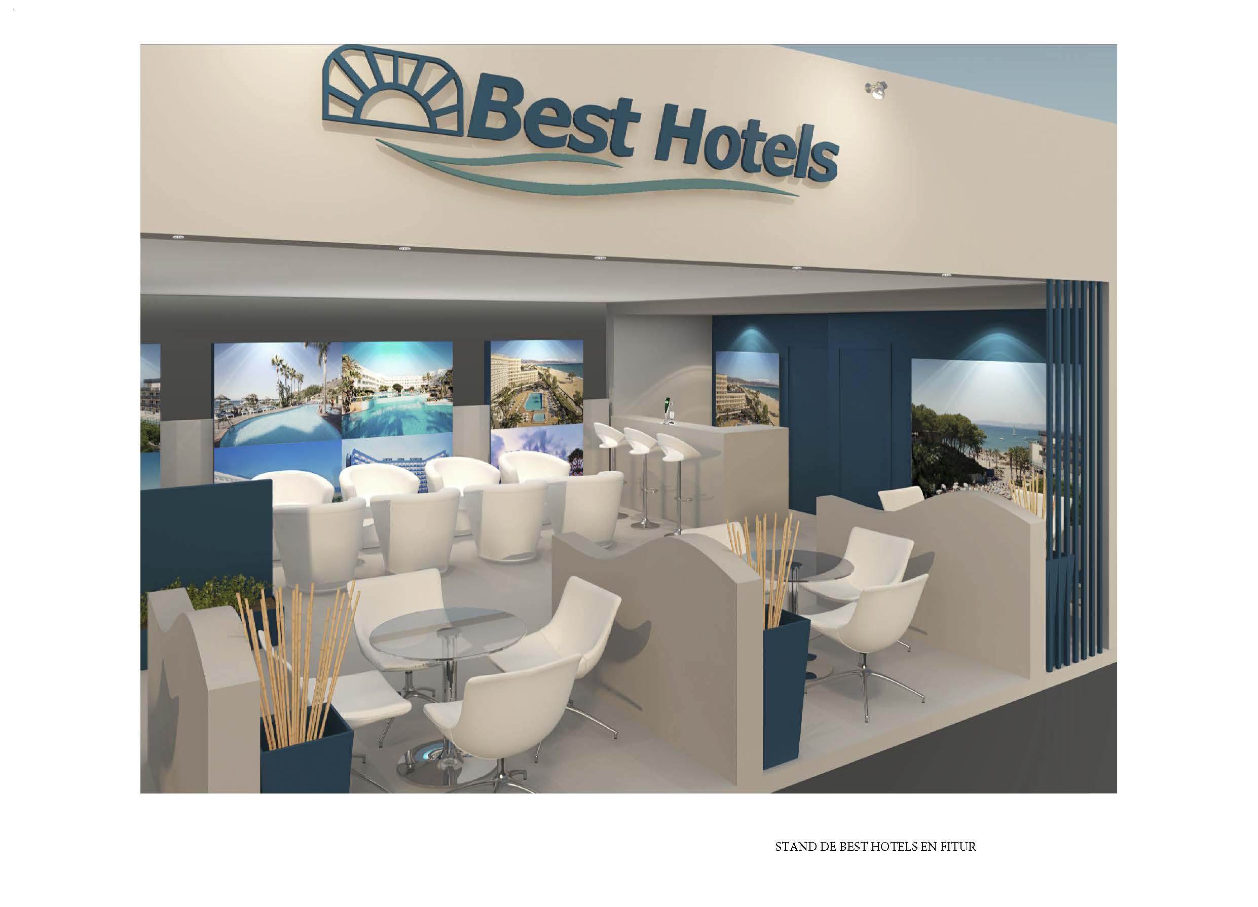 Stand BEST HOTELS en FITUR