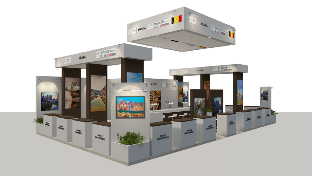 Stand Belgica at Fitur