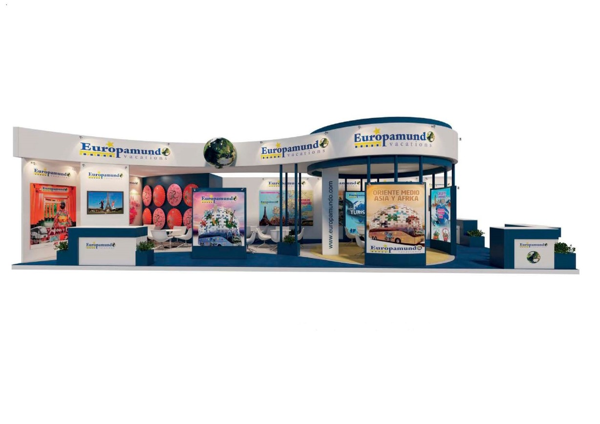 Stand Design for EUROPAMUNDO at FITUR