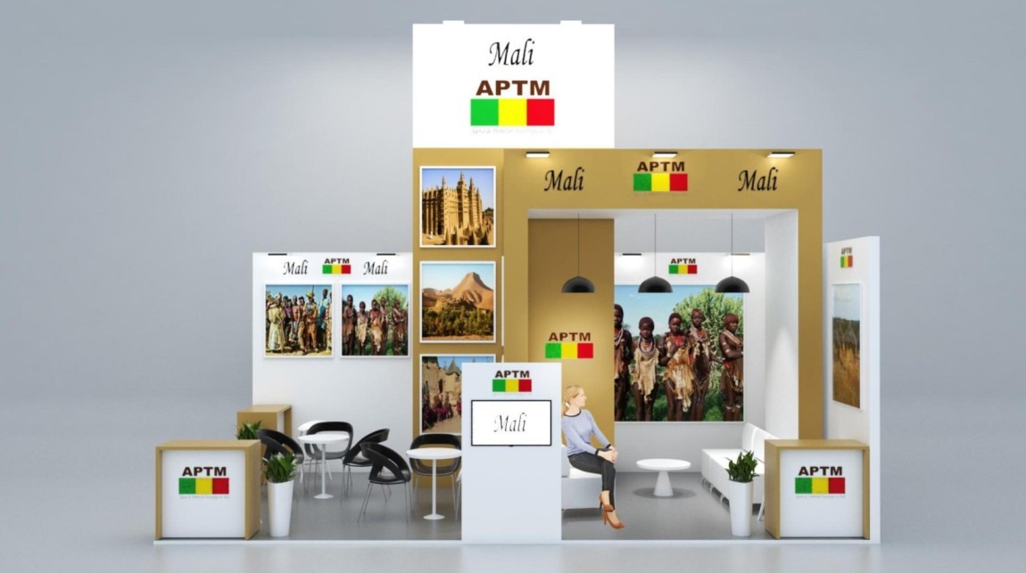 Stand Design for Mali at FITUR