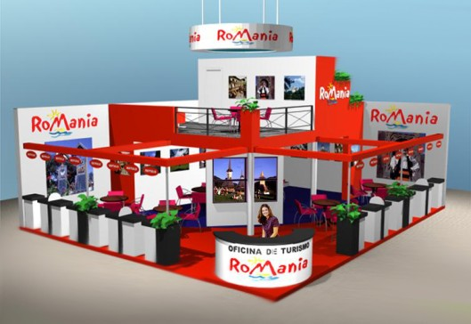 Stand Design for Romania at FITUR