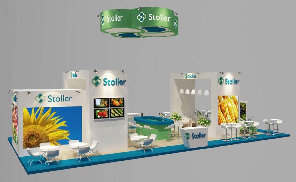Diseño de Stand de Stoller Europe en Fruit Attraction