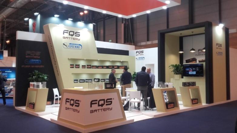 Stand de FQS Battery