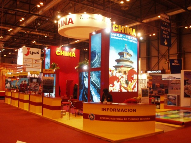 Stand for China at FITUR