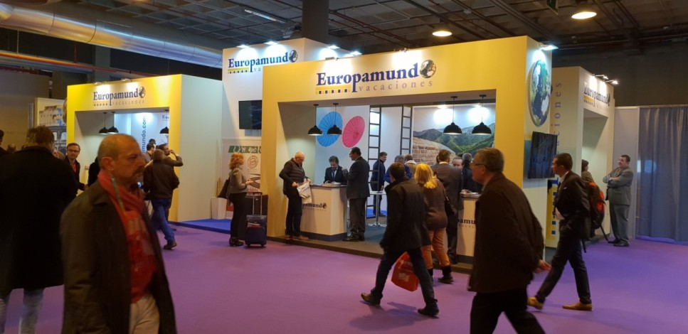 Stand for EUROPAMUNDO at FITUR