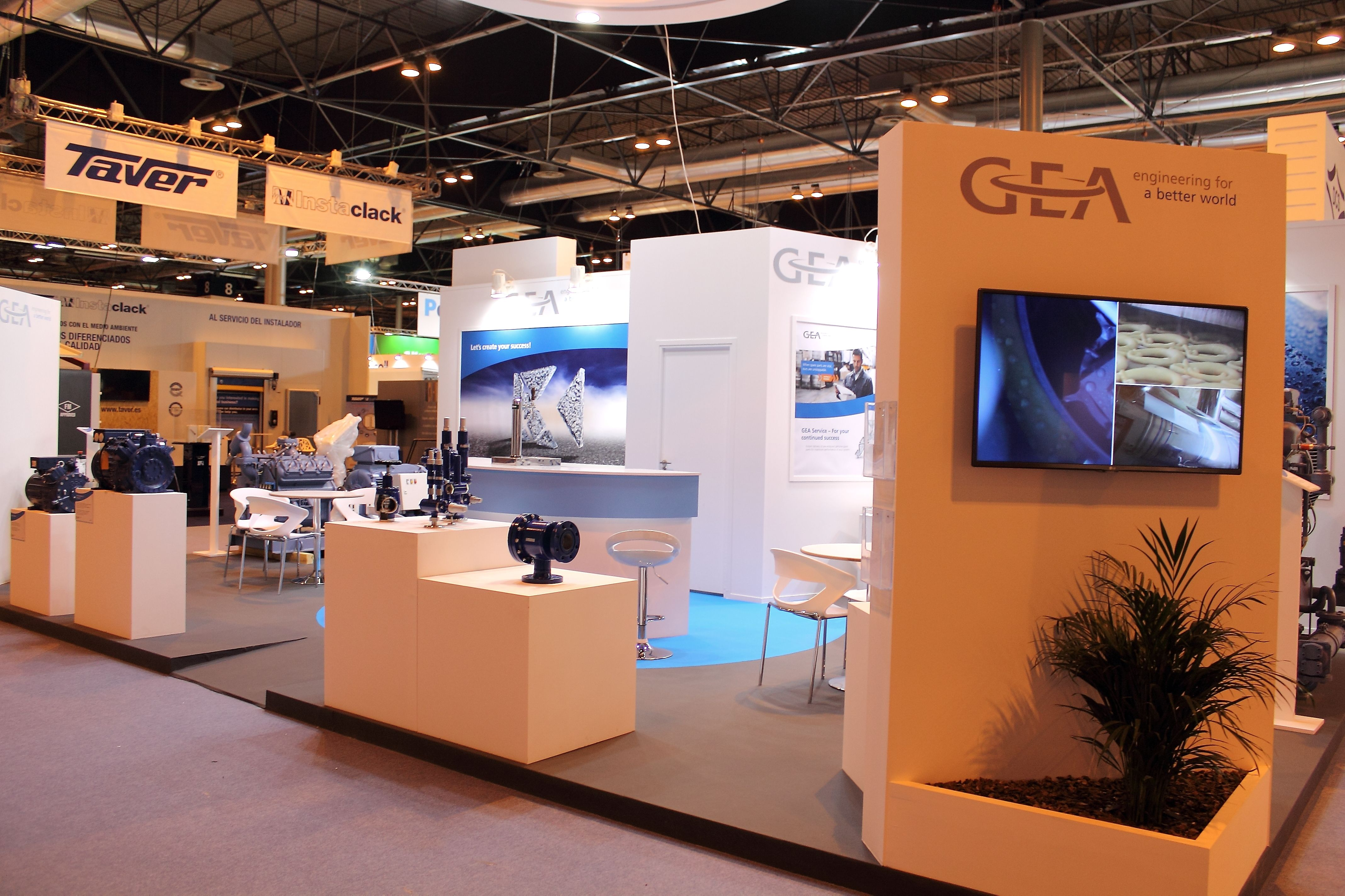 Stand for GEA Engineering at CLIMATIZACION